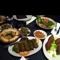 Lebanese food! I don't know how I got from a quote to this ;)