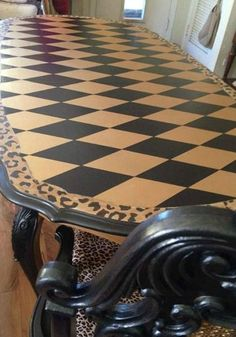 Metallic Paint Collection | Harlequin Table | by Southside Furniture Revival
