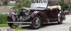1937 BENTLEY 4¼-LITRE CABRIOLET (CANTILEVER DOORS) - coachwork by James Young Limited of Bromley, England.