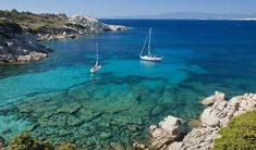 Sardinia is famous for its beautiful beaches and emerald waters, and there's plenty of choice for the beach lovers among you. Here is a selection of Sardinia's most stunning beaches. Most Beautiful Beaches, Life Is Beautiful, Beautiful Places, Culture Of Italy, Temple, Beau Site, Santa Teresa, Small Island, Beach Fun