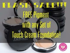 Flash Sale today only...who wants a FREE Pigment of your choice??? I am so close to my goal I want to give away some free stuff! send me a msg. lets make a deal! Kim's Younique Products https://www.facebook.com/pages/Kims-Younique-Products/614887565213278