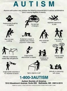 Know the signs and treat this type of child as you would want your special child to be treated! I am so tired of insensitive people and their comments on how to 'fix' my child as if he were broken.