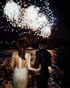 10 Prodigious Simple Wedding Dress Mermaid Marvelous Ideas.Designer Wedding Dresses Photo by Lauren Barnette Sanger on August 28 2020. Image may contain: one or more people people standing fireworks night and outdoor.