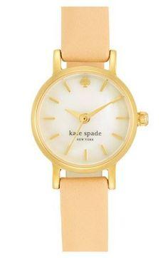 Such a peachy Kate Spade watch ;)