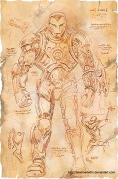 iron man davinci2