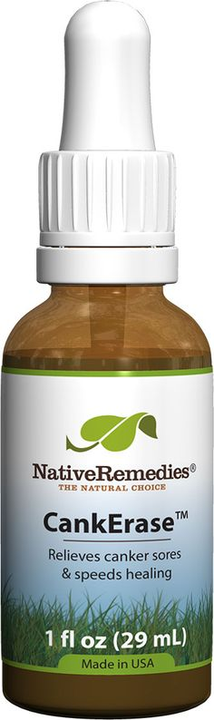 CankErase™ - Canker Sore Remedy to Heal the Mouth and Tongue