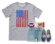 """""""Honor Memorial Day"""" by flowers8989 ❤ liked on Polyvore featuring Paige Denim, LifeProof, Tovolo, Vans, memorialday and showrespect"""