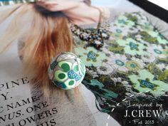 JCREW Fall 2013 Inspired Bead...part of a whole new exciting set of plans and dreams for 2014!