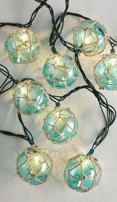 Float the Idea String Lights. I need these for my coastal Christmas tree.
