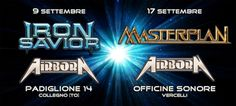 Image of Iron Savior + Airborn / Masterplan + Airborn, pacchetto 2 concerti…