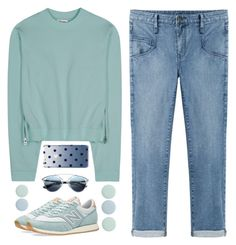 """""""Untitled #82"""" by dianakhuzatyan ❤ liked on Polyvore featuring moda, Helmut by Helmut Lang, Acne Studios, New Balance, Kate Spade, Christian Dior, Deborah Lippmann, women's clothing, women i female"""