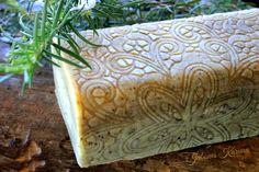 Jabón de romero. Rosemary soap