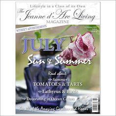 Jeanne d'Arc Living Magazine July 2012