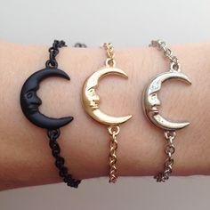 Image of Crescent Moon Bracelet