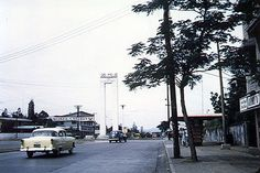 Welcome Rotonda in the boundary of Manila and Quezon City in the 1960s.