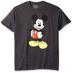 Amazon: Disney Men's Mickey Wash Short Sleeve T-Shirt