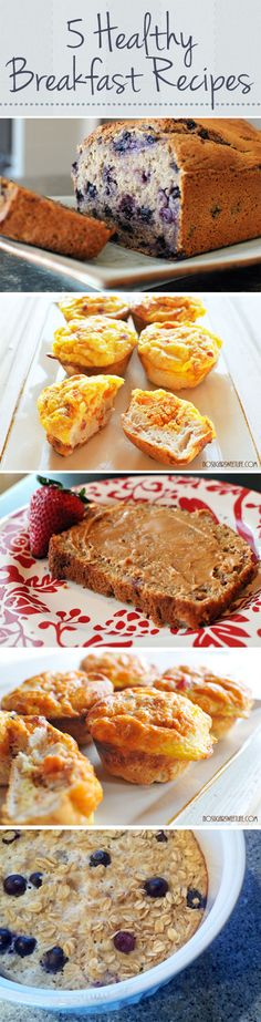 5 Healthy Breakfast Recipes
