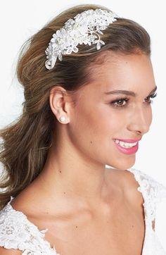 Wedding Belles New York 'Kathryn' Faux Pearl