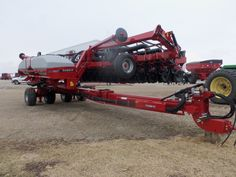 Nice look at 24 row CaseIH 1245 corn planter