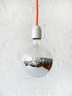 dipped light bulb