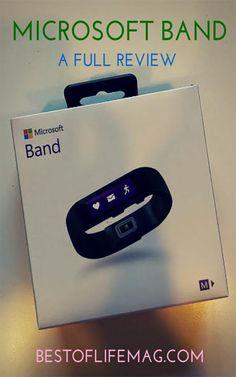 The Microsoft Band Review you Need #Microsoft #MicrosoftBand #Fitness