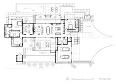 Arroyo Grande Modern Farmhouse - Farmhouse - Living Room - san luis obispo - by Gast Architects Barn House Plans, Country House Plans, House Floor Plans, Home Building Tips, Building A House, California Homes, California Coast, Arroyo Grande, Floor Plan Layout