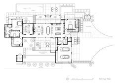 Arroyo Grande Modern Farmhouse - Farmhouse - Living Room - san luis obispo - by Gast Architects Farmhouse Floor Plans, Modern Farmhouse Exterior, Barn House Plans, Country House Plans, Home Building Tips, Building A House, California Homes, California Coast, Arroyo Grande