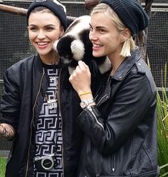 Ruby Rose & Phoebe Dahl