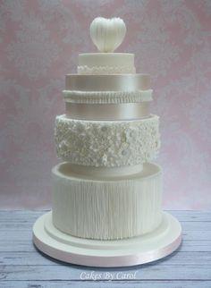 Wedding Cake Gold Award Cake International - Cake by Carol
