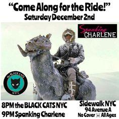 Spanking Charlene & the BLACK CATS NYC