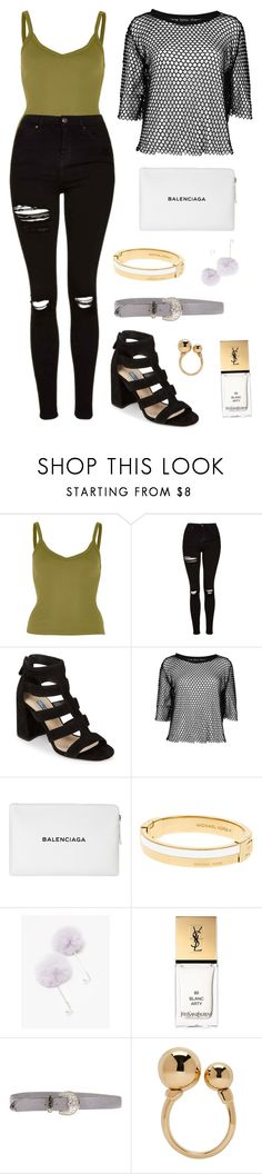 """October 21st"" by rawrawdino on Polyvore featuring River Island, Topshop, Prada, Balenciaga, Michael Kors, Yves Saint Laurent, Orciani and Chloé"