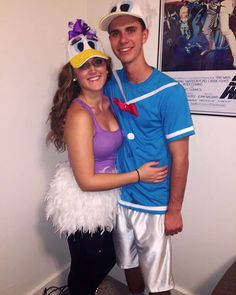 Donald and Daisy Duck Halloween costumes