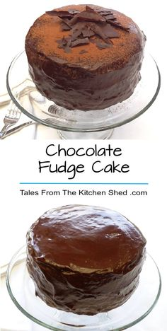 Chocolate Fudge Cake - A rich, moist chocolate sponge smothered in glossy chocolate fudge icing guaranteed to satisfy any chocolate craving & all for just £1 !