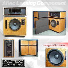 Altec 19 Studio Monitor Hifi Audio, Wireless Speakers, Usb Gadgets, Electronics Gadgets, Logitech Speakers, Altec Lansing, Horn Speakers, Antique Radio, Speaker Design