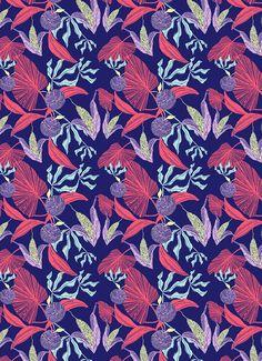 Textile Designer and Illustrator Hannah Rampley
