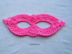 Halloween craft ideas: Crochet mask tutorial - Craft Ideas - Crafts for Kids - HobbyCraft