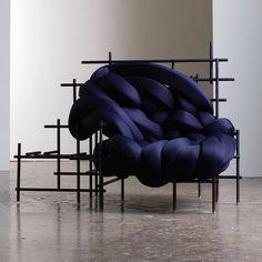 Lawless Chair by @evan_fay_design shown @idstoronto last week.  Via @aratani_fay  #design #chair