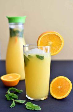 8 Refreshing Summer Mocktails You Can Enjoy During Pregnancy via Brit + Co
