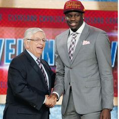 Congrats to Anthony Bennett, the first Canadian-born No.1 draft pick into the NBA. #CanBall