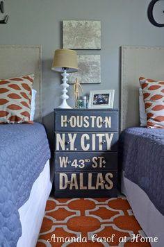 Upscale a Dresser + MORE Boy Bedroom Ideas