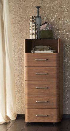 ESSENTIA - Single bed / contemporary / upholstered / steel by Flou E Design, Interior Design, Walk In Wardrobe, Creative Studio, Minimalist Design, Bookcase, Dresser, Design Inspiration, Contemporary