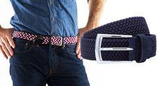 Stretch Woven Belts - ($50-65) - Beltology  | ThePlunge.com