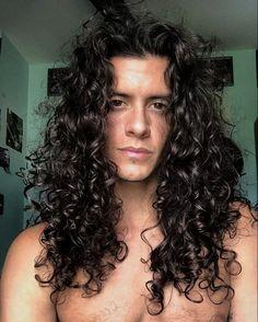 Boys Long Hairstyles, Cool Hairstyles, Long Curly Hair, Curly Hair Styles, Hair Care Routine, How To Draw Hair, Grunge Hair, Hair Designs, Hair Hacks