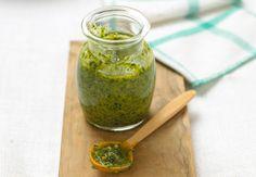 Pesto de coriandre aux noix Apprenez à réaliser cette recette dupesto de coriandre aux noix