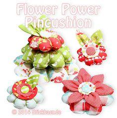 Flowerpower-Pincushion