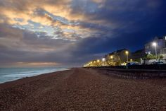 I control time. (FYI Sony a6000sigma19mm / various exposures@F8 ISO 100 processed in capture one and blended in Photoshop) ///// #sandgate #kent #england #uk #sunset #night #evening #momentsintime #beach #coast #clouds #sea #water #lights #houses #sonya6000 #photoshop #captureone #sigma #every3secondsadonkeycries