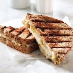 Grilled cheese aux endives et aux poires | Recette | J'aime 5 à 10 portions par jour | AQDFL