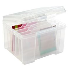 Card organizer that can be used to organize birthday cards, thank you cards, blank envelopes, Christmas cards, stamps and mailing labels