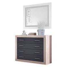 C moda de madera maciza de haya ideal para dormitorios de for Comodas habitacion matrimonio