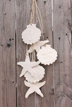 DIY Idea ~ Starfish and Shell Garland